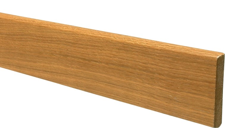 plinthe mdf placage ch ne 10 cm brun buisson. Black Bedroom Furniture Sets. Home Design Ideas