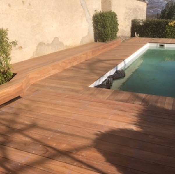 Terrasse bois – Cumaru – 20 x 140 mm | BRUN-BUISSON